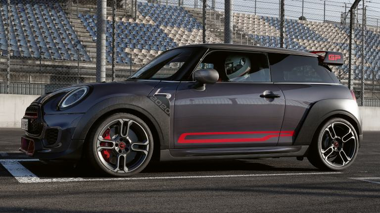 MINI John Cooper Works GP – autocollants latéraux – chili red