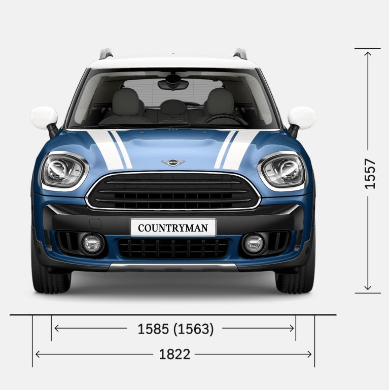 MINI COUNTRYMAN – VOORAANZICHT