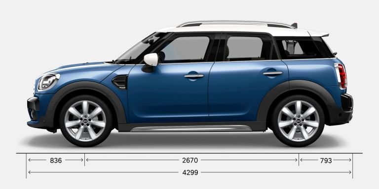 MINI COUNTRYMAN – ZIJAANZICHT