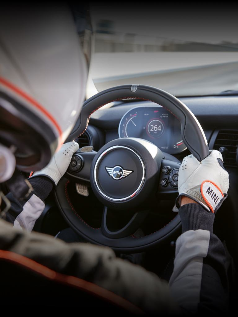 MINI John Cooper Works GP – stuurwiel – cockpit